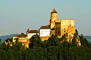 Zamek w Starej Lubovnej